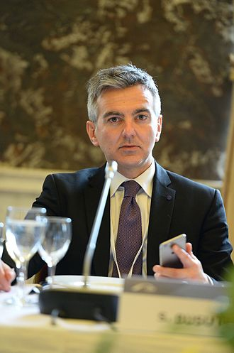 Simon Busuttil - Busuttil during EPP Summit, 2015