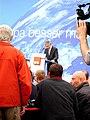 EU-Wahlveranstaltung Martin Schulz in Frankfurt am Main, Peter Feldmann, 8.JPG