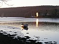 Early morning sun catches the 'Point' - geograph.org.uk - 1094029.jpg