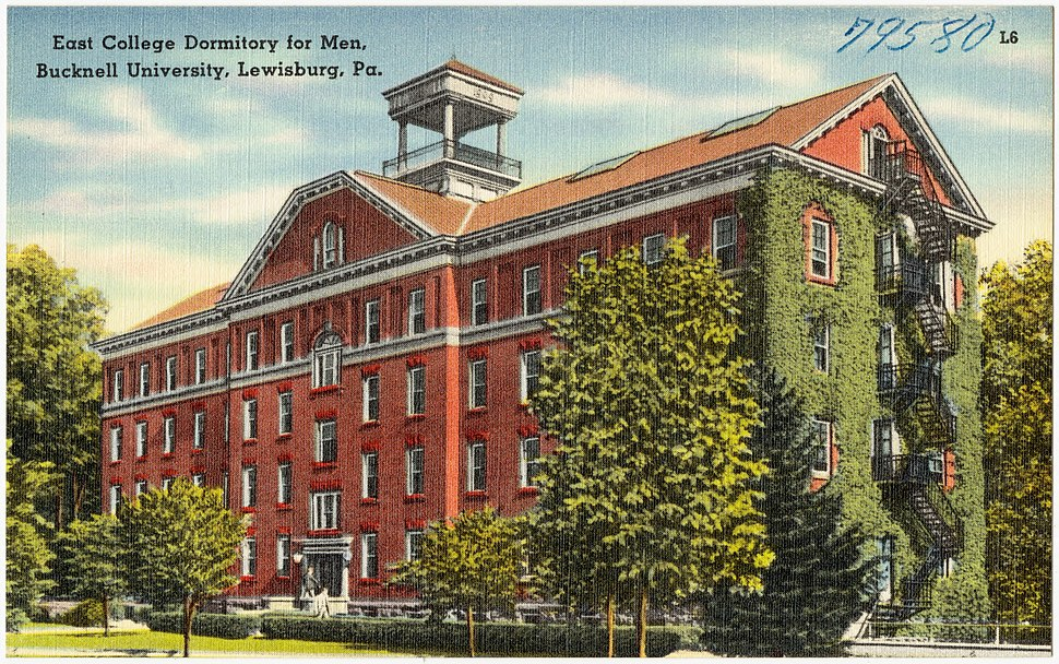 East college dormitory for men, Bucknell University, Pa (79580)