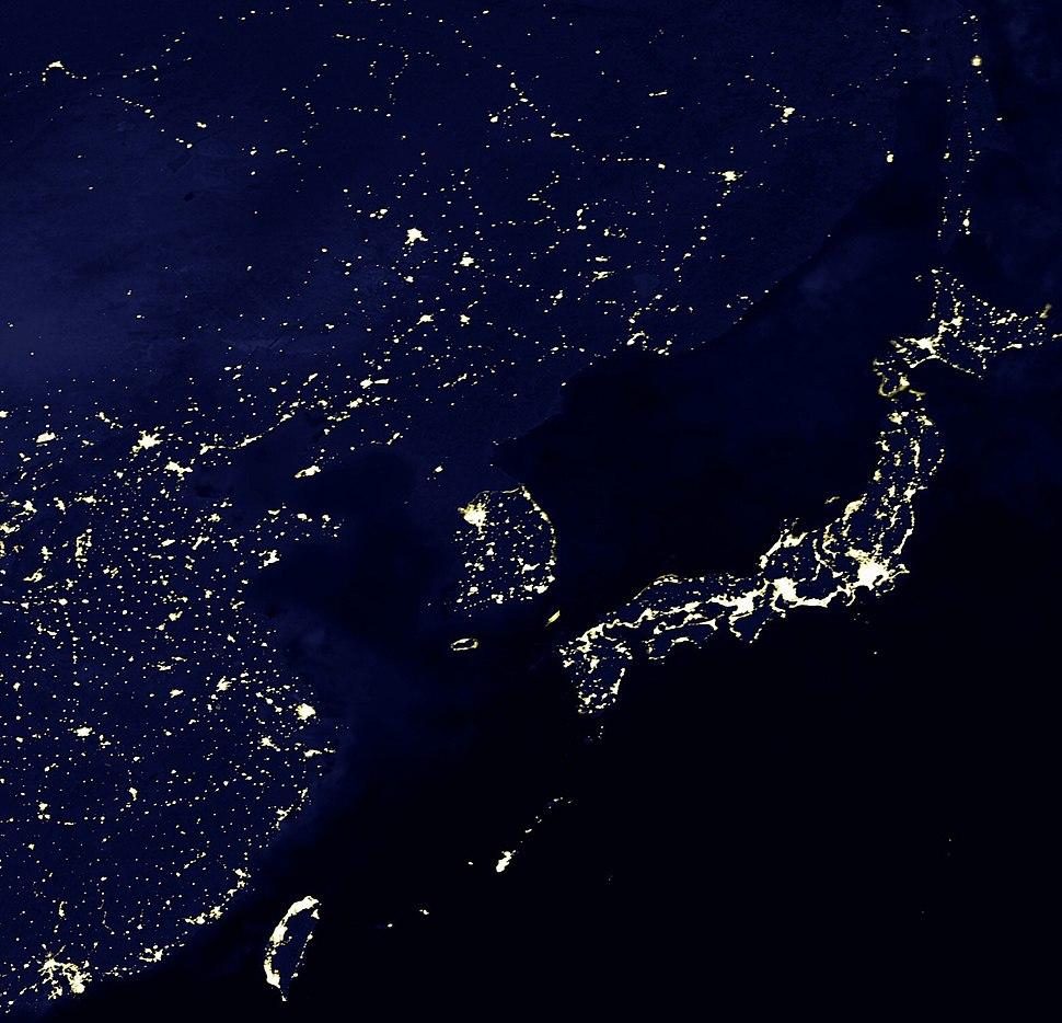 Eastasia lights