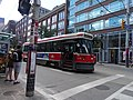 Eastbound 504 King streetcar, waits at Sherbourne, 2016 07 03 (1).JPG - panoramio.jpg