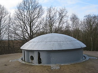 Fort Eben-Emael - 75mm turret, B.V