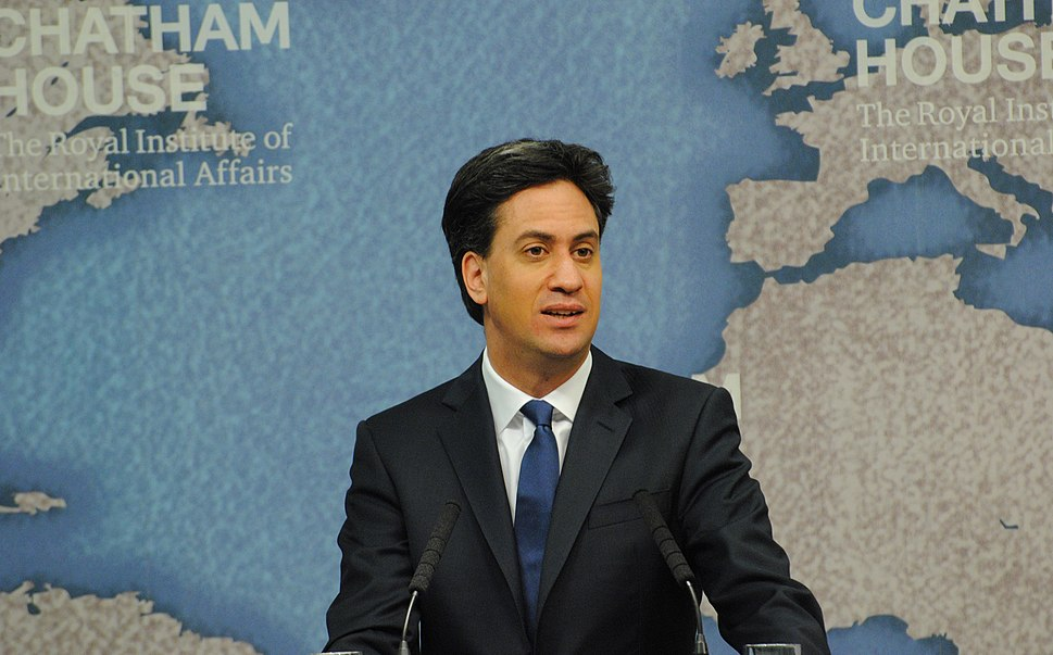 Ed Miliband speaking at Chatham House on 24 April 2015