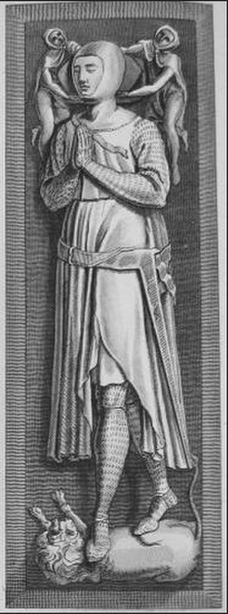 Edmund Crouchback - Effigy and monument of Edmund Crouchback, Westminster Abbey