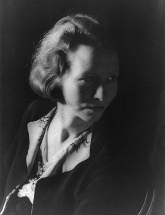 Edna St. Vincent Millay - Edna St. Vincent Millay,  photographed by Carl Van Vechten, 1933