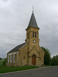 The church in Champigneulle