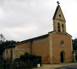 The church in Salles