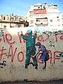 Egypt Tahrir Banksy Type Wall Art; child & soldier.jpg