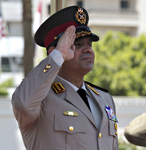Egyptian Minister of Defense Abdel Fatah Al Sisi