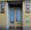 Eingang Bernhardgasse 3a, Spittal an der Drau, Kärnten.jpg