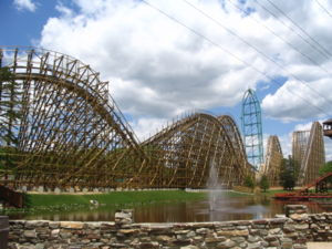 El Toro, Six Flags Great Adventure, Jackson, New Jersey, USA.
