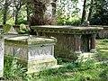 Elaborate chest tombs - geograph.org.uk - 564109.jpg
