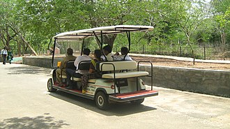 Vandalur - Image: Electric car vandalur zoo Tamil Nadu 99