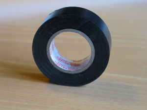 Electrical tape, standard black