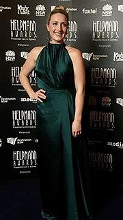 Elise McCann Australian actress