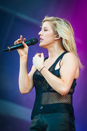 Don't (Ed Sheeran song) - Tabloids linked singer, Ellie Goulding (pictured), to Sheeran