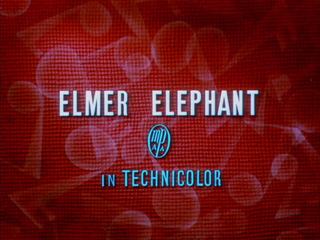 <i>Elmer Elephant</i> 1936 film by Wilfred Jackson