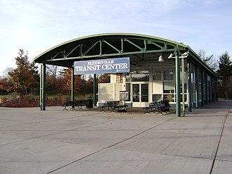 Eltingville Transit Center - The main entrance in 2007