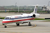 Embraer EMB-135KL (ERJ-140LR) American Connection (Chautauqua Airlines) N299SK (7295779272).jpg