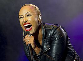 Emeli Sandé op 7 september 2013