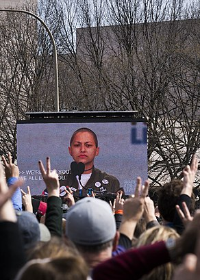 Emma Gonzalez speaks - March for Our Lives.jpg