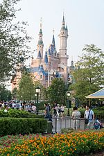 Enchanted Storybook Castle from Gardens of Imagination (29629287462).jpg