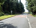 End of the 30mph speed limit, Mountain Road, Caerphilly - geograph.org.uk - 2561793.jpg