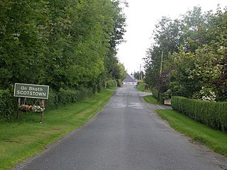 Scotstown Village in Ulster, Ireland
