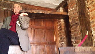 Nicholas Owen (Jesuit) - Another priest hole made by Nicholas Owen in the library in Harvington Hall