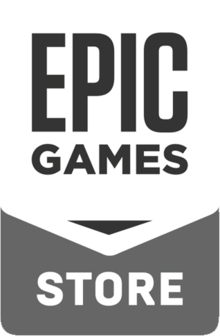 Description de l'image Epic games store logo.png.
