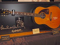 Epiphone Texan modeled after the one often used by McCartney.