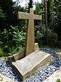 Erdbebenkreuz. Zum Gedenken an das Erdbeben 18. Oktober 1356. Standort, Krummenrainweg, Reinach (1).jpg