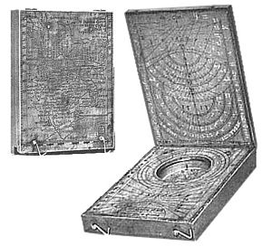Erhard Etzlaub - Etzlaub's 1513 sundial, 84 x 116 mm.