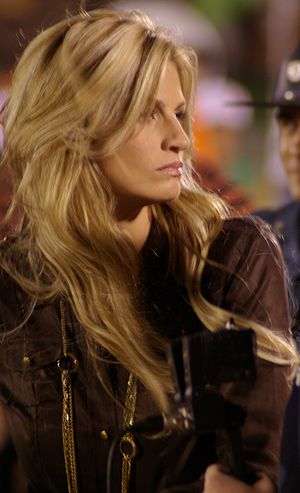 Erin Andrews at the 2008 Oklahoma State vs. Mi...