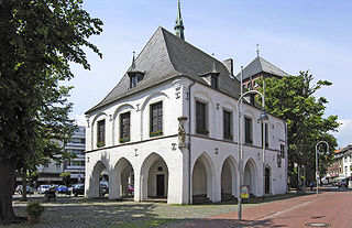 Erkelenz Place in North Rhine-Westphalia, Germany