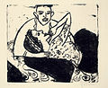 Ernst Ludwig Kirchner Werbendes Mädchen 1911.jpg