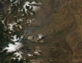 Eruption of Copahue Volcano, Argentina-Chile 12-28-2012.PNG