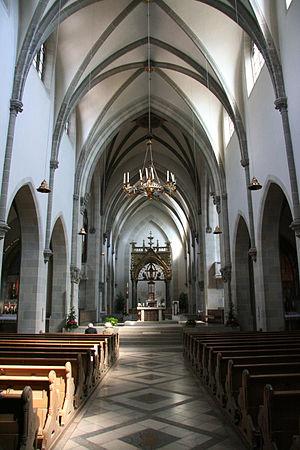 St. Ottilien Archabbey - The monastery church inside