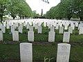 Essex Farm Cemetery near Ypres, Belgium. (18094154560).jpg