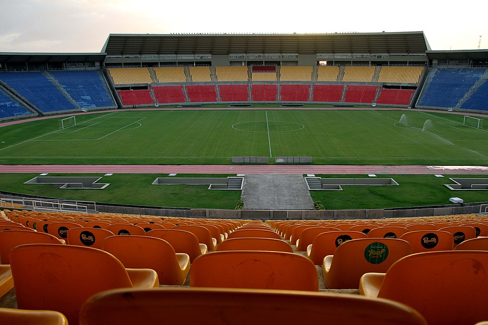 Estádio Castelão em São Luís, Maranhão, Brasil