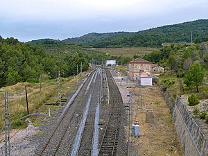 Estación de Pradell. Vista general.jpg