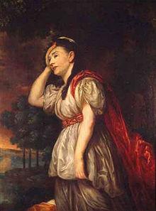 Esther Charlotte Brandes als Ariadne (Kopie nach einem Porträt von Anton Graff) (Quelle: Wikimedia)