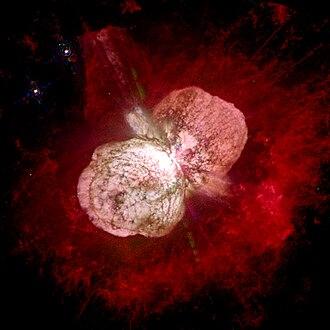 Carina Nebula - Eta Carinae, surrounded by the Homunculus Nebula