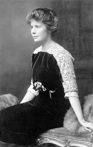 Ethel Roosevelt Derby - Ethel Roosevelt in 1912 a year before marriage.