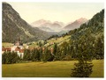 Ettal with the Ammergebirge, Upper Bavaria, Germany-LCCN2002696217.tif