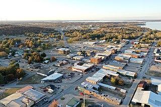 Eufaula, Oklahoma City in Oklahoma, United States