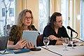 European Voices A Reading & Conversation with Christos Ikonomou and Karen Emmerich (26539979826).jpg