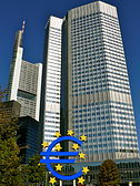 European Central Bank headquarters (Eurotower)