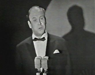 Sweden in the Eurovision Song Contest - Image: Eurovision Song Contest 1965 Ingvar Wixell